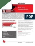 eMarketer Flash Sales