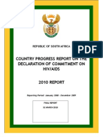 South Africa 2010 Country Progress Report En