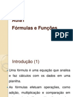 Excel - Aula 01