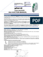 Manual DigiRail-4C - English