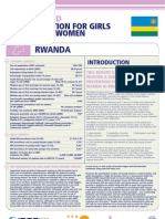 Hiv Prevention Girls and Young Women Rwanda Report Card