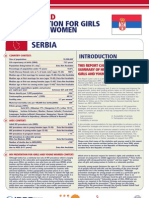 Hiv Prevention Girls and Young Women Serbia Report Card