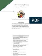 Medford Community Directory