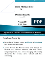Lect 03 Database Security