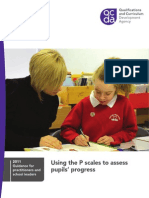 Qcda-11-4841 Using the p Scales to Assess Pupils Progress[1]