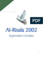 Ar Risala September-October 2002