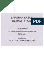 demam typoid