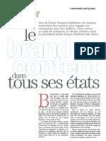 Brand Content Cas STRAT101111