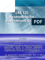 AS_12_Accounting for Government Grants