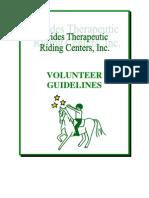 Volunteer Manual