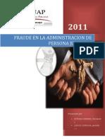 FRAUDE EN LA ADMINISTRACIÓN DE PERSONAS JURIDICAS