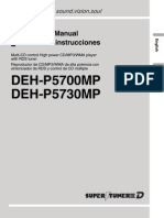 Deh-p5730mp Manual en Es