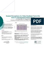Student Perceptions of a Video Feedback Tool -Final