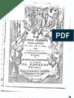 Corbetta, F. - De Gli Scherzi Armonici (1639)