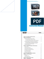 JA85 User manual