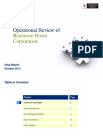 Braemore Home Operational Review