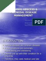Perianal Abscess Pilonidal Disease