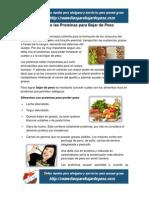 Dietas de las Proteínas para Bajar de Peso