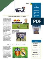Boletin Palco Liga BBVA 3ª Edicion IMPRIMIR