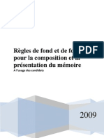 Memoire Presentation Manuel Cefac