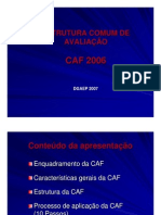 Apresentacao da CAF