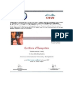 Best Performig Cisco Networkig Academy in Bangladeh (090408)