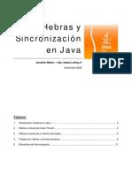 Tutorial Java - Hebras y Sincronizacion