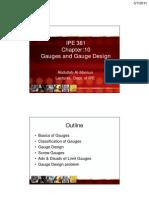 Gauges and Gauge Design