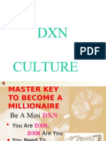 Dxn Culture for Success