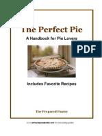 The Perfect Pie Handbook