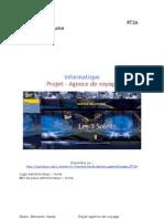 Rapport Projet Agence de voyages Bazin Bernard Hardy