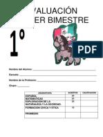 Examen de Primero 1er Bim