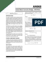 Microchip Synchronous Buck Design AN9689