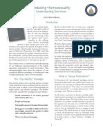 2011-10 Debating Homosexuality FRC EF11J33