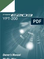 Yamaha YPT 200