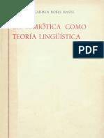 La Semiotica Como Teoria Linguistic A 0