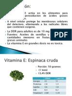 Vitamina E Como ante