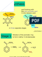 Synthesis and analysis of nitobenzoic acid[1]