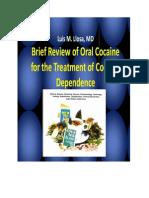 Luis m Llosa Book Oral Cocaine