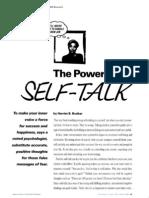 Braiker Power of Self Talk