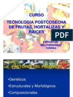 Postcosecha Capitulo III Factores deL Producto