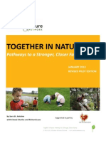 Children & Nature Network Family Bonding Toolkit Pilot