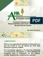 APIA Programa RSE en El Sector Agronegocios