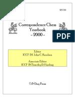 Correspondence Chess Yearbook 2000