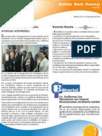 Inicio de los Comites Delegacionales Benito-Juárez Cuauhtémoc