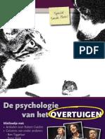 Miniboekje Psychologie Van Het Overtuigen 2011