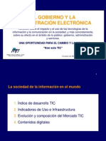 Gobierno Electronico. Prof Jordi Pericas