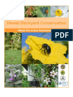 Hawaii; Backyard Conservation