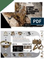 CTOMS X-Belt / M-Harness Brochure