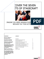 Discover the Seven Secrets of Stagecraft
